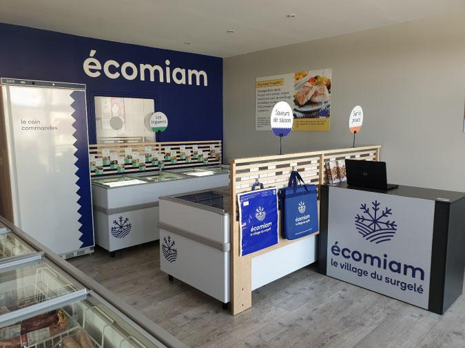 écomiam Belle-Île-en-Mer   magasin de produits surgelés