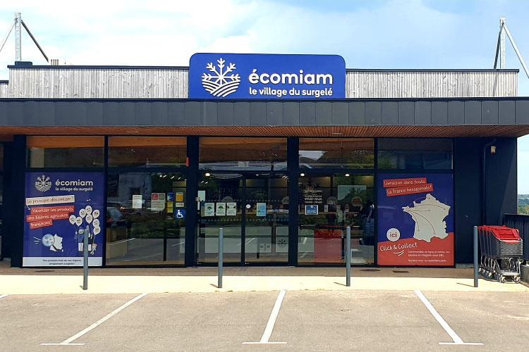 écomiam Fouesnant | magasin de produits surgelés