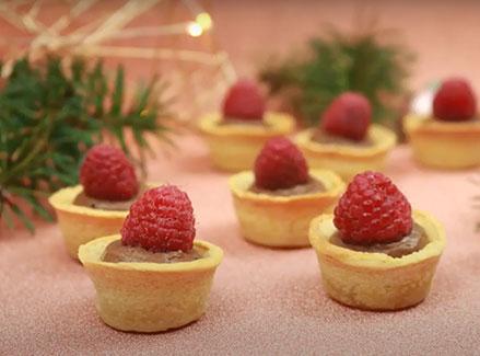 Surgelé - Mini-tartelettes à la mousse au chocolat